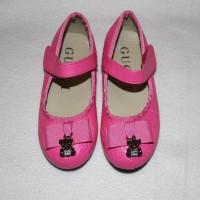 GUCCI Туфельки для девочки розовые
