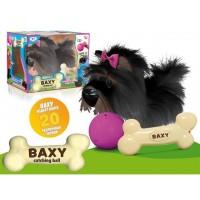 """Интерактивная игрушка """"Собака Бакстер"""", цвет черный. Арт.И658"""