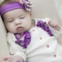 """Комплект в кроватку """"Бабочки"""", цвет бледно-розовый"""