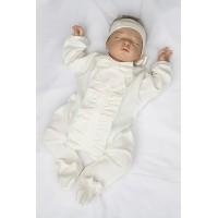 """Комплект в кроватку """"Бабочки"""", голубой"""