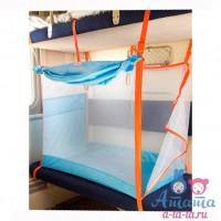 """Комплект в кроватку """"Котенок"""" серо-розовый"""