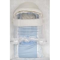 Комплект в кроватку «Шарм» (в круглую кроватку 7 в 1) розовый
