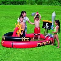 Самокат трехколёсный 3 в 1 с сиденьем, светятся колеса, цвет голубой