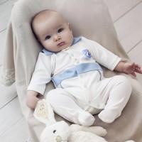 """Комплект в кроватку """"Идеал"""" синий"""