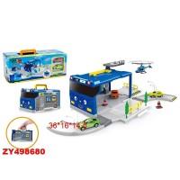 """Комплект в кроватку """"Идеал"""" бело-синий"""