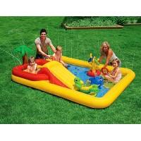 """Ж/д EA80041R """"Вокзал"""" р/у , со светом и звуком, на батарейках, в коробке 57,5*11*40,56см S+S TOYS"""