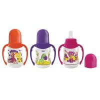 Кулер детский АкваНяня Китти. оранжевый с желтым