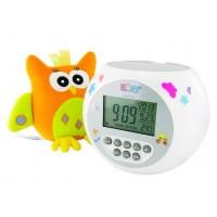 """Комплект в кроватку """"Зайка-Засыпайка"""", цвет серо-бирюзовый"""
