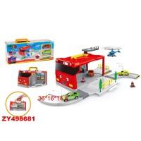 """Комплект в кроватку """"Сказка"""", цвет розово-серый"""