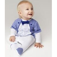 Надувной бассейн для малышей Осьминожка 61*15 см